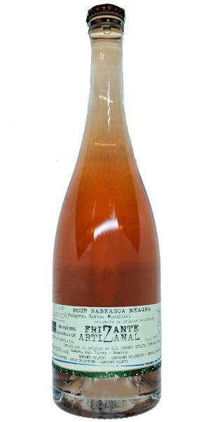 vin bio frizzante la sapata roze